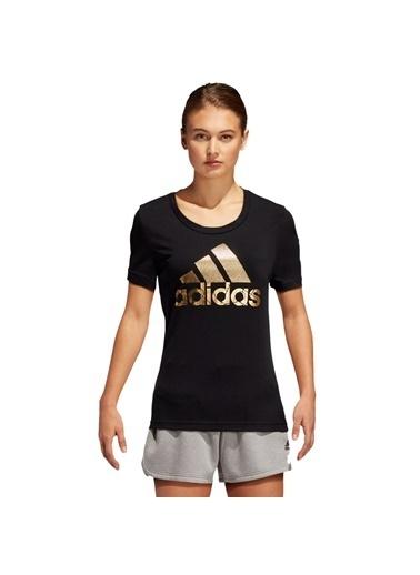 adidas Bos Foil Tee Kadın T-Shirt Renkli